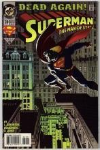 Superman  The Man of Steel #39 comic book mint 9.8