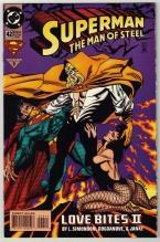 Superman  The Man of Steel #42 comic book near mint 9.4