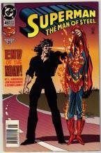 Superman  The Man of Steel #45 comic book near mint 9.4