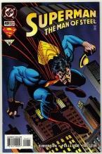 Superman  The Man of Steel #49 comic book near mint 9.4