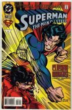 Superman  The Man of Steel #52 comic book near mint 9.4
