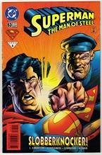 Superman  The Man of Steel #53 comic book near mint 9.4