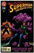 Superman  The Man of Steel #59 comic book near mint 9.4