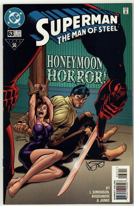 Superman  The Man of Steel #63 comic book near mint 9.4