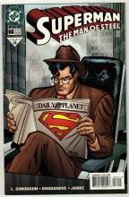 Superman  The Man of Steel #66 comic book near mint 9.4