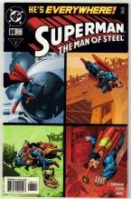 Superman  The Man of Steel #86 comic book mint 9.8