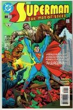 Superman  The Man of Steel #80 comic book near mint 9.4
