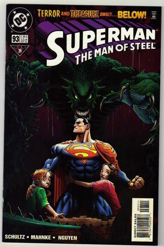 Superman  The Man of Steel #93 comic book near mint 9.4