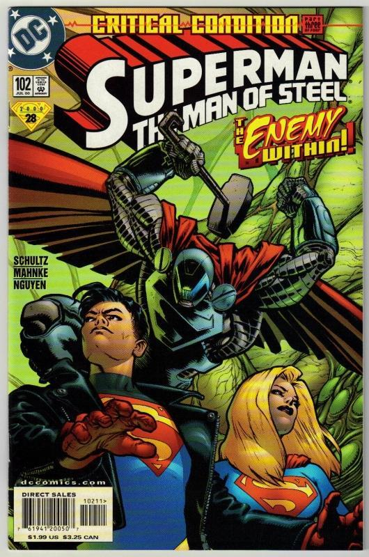 Superman  The Man of Steel #102 comic book mint 9.8