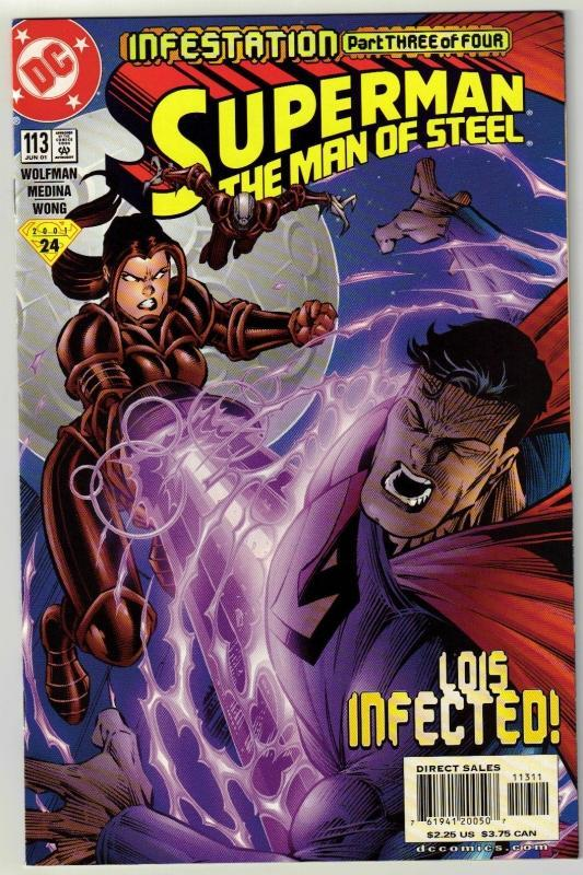 Superman  The Man of Steel #113 comic book mint 9.8