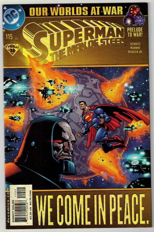 Superman  The Man of Steel #115 comic book mint 9.8
