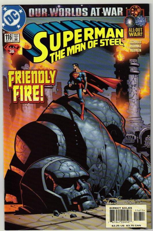 Superman  The Man of Steel #116 comic book mint 9.8