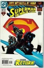 Superman The Man of Steel #117 comic book near mint 9.4
