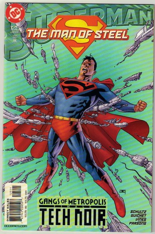 Superman  The Man of Steel #125 comic book mint 9.8