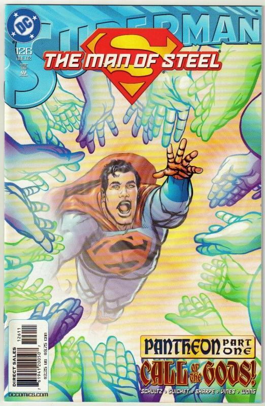 Superman  The Man of Steel #126 comic book mint 9.8