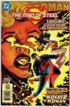 Superman The Man of Steel #127 comic book near mint 9.4