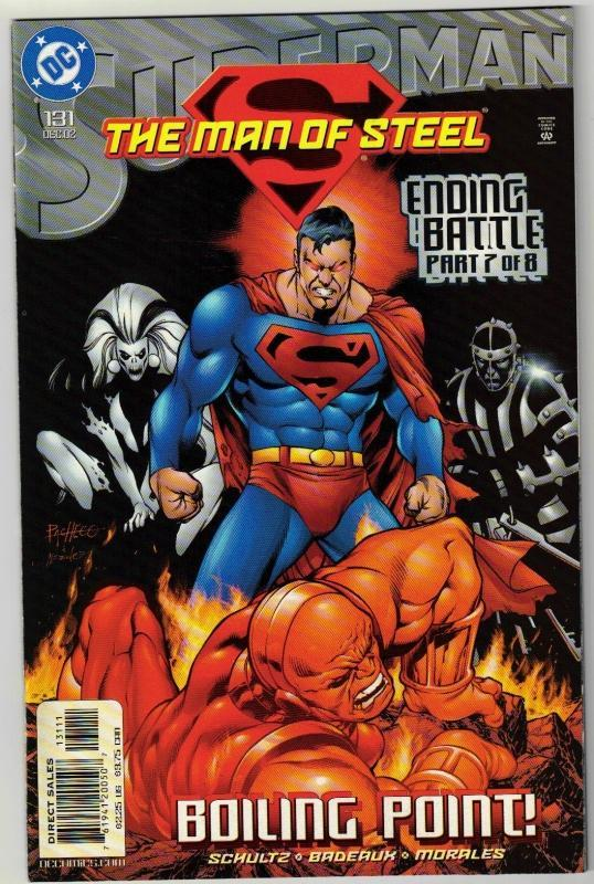 Superman  The Man of Steel #131 comic book mint 9.8