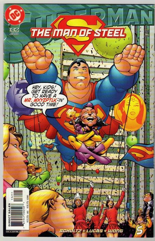 Superman  The Man of Steel #132 comic book mint 9.8