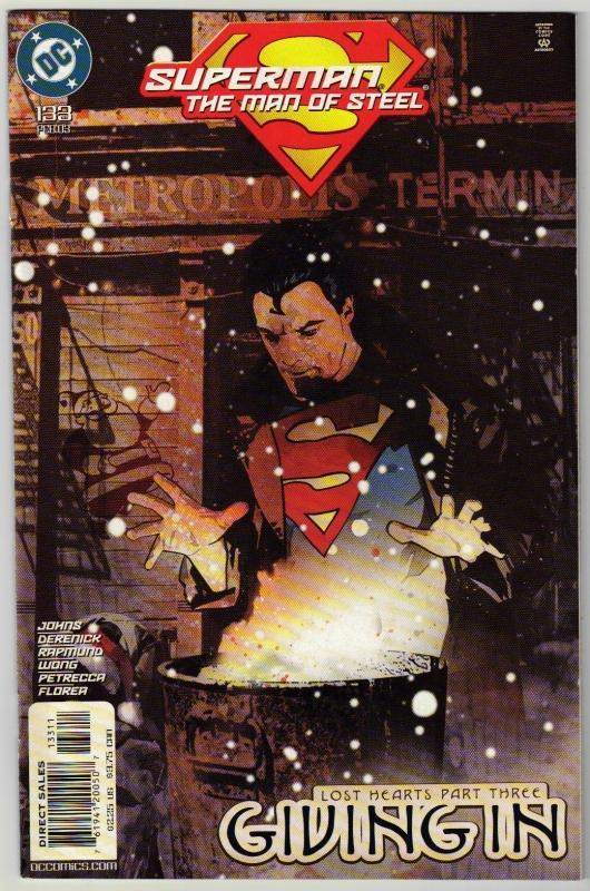 Superman  The Man of Steel #133 comic book mint 9.8