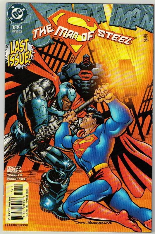 Superman  The Man of Steel #134 comic book mint 9.8