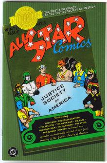 Millenium edition of All Star Comics #3 nm 9.4