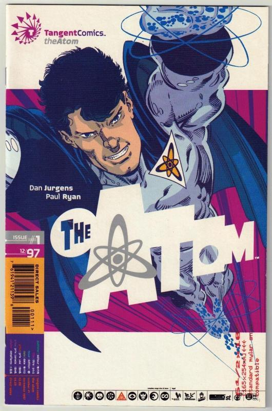 Tangent Comics The Atom #1 comic book near mint 9.4