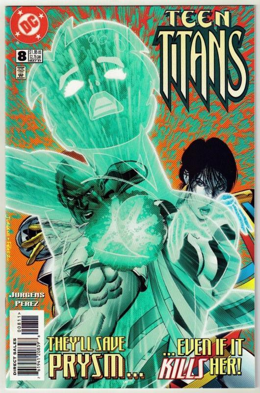 Teen Titans #8 comic book mint 9.8