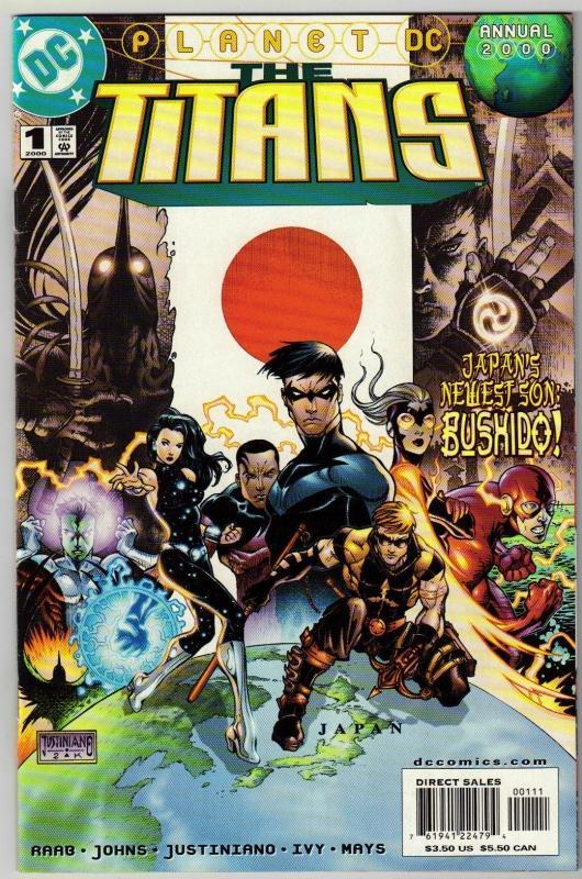 New Titans Annual #1 comic book near mint 9.4