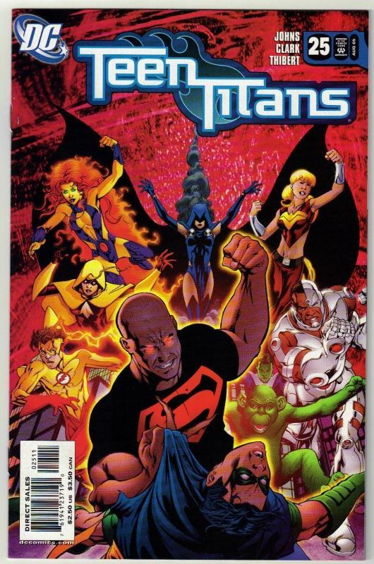 Teen Titans #25comic book mint 9.8