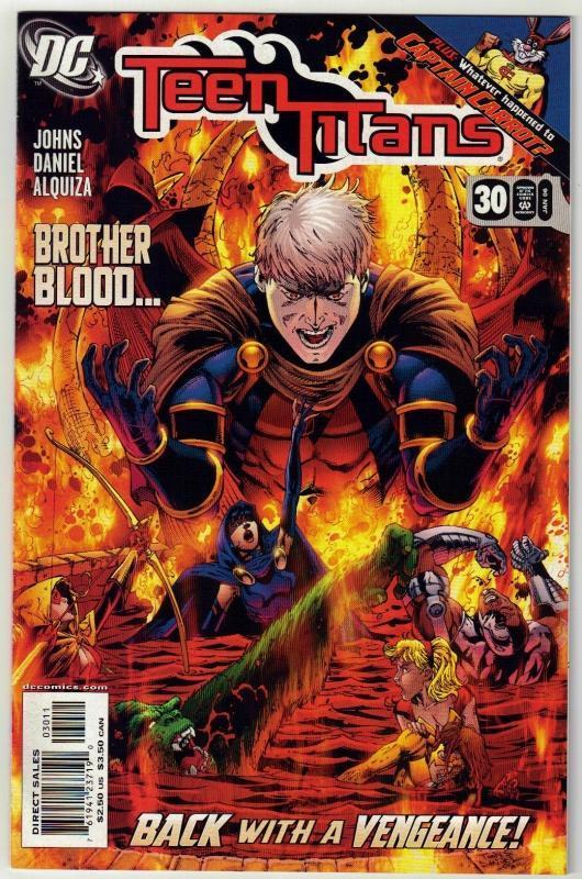 Teen Titans #30 comic book mint 9.8
