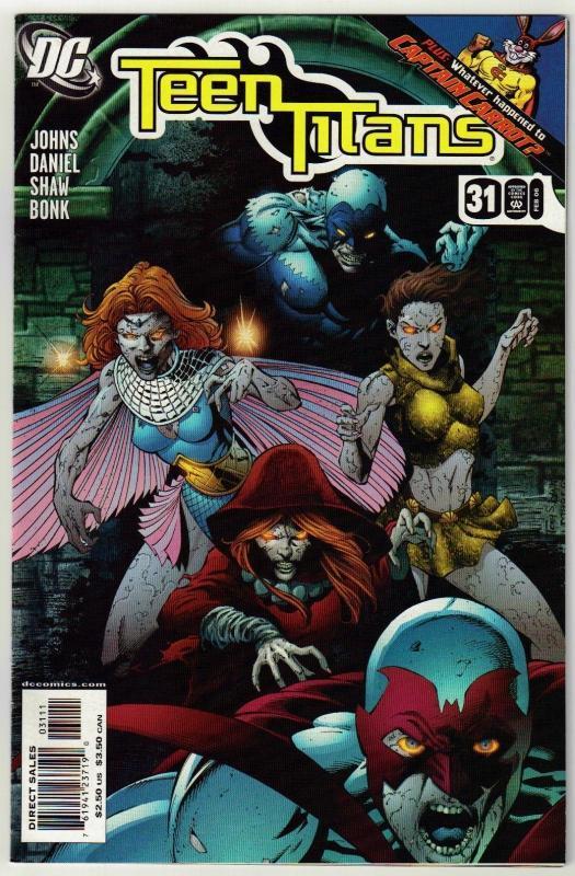 Teen Titans #31 comic book mint 9.8