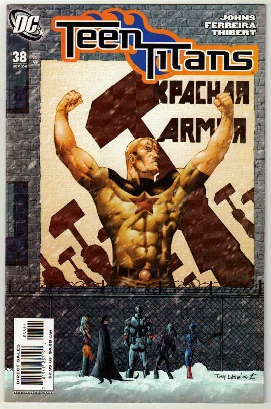Teen Titans #38 comic book mint 9.8