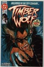 Timber Wolf #1 comic book very fine 8.0