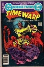 Time Warp #4 comic book very good 4.0