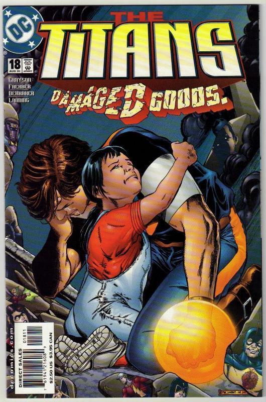 Titans #18 comic book mint 9.8