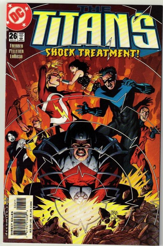 Titans #26 comic book mint 9.8