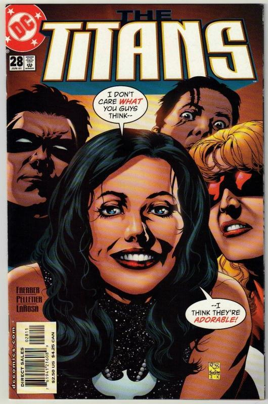 Titans #28 comic book near mint 9.4