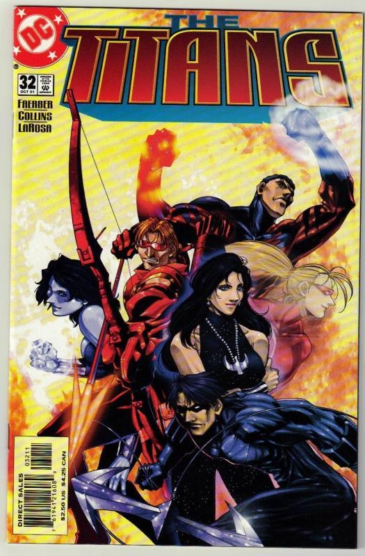 Titans #32 comic book mint 9.8