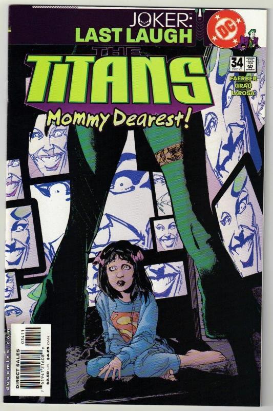 Titans #34 comic book mint 9.8
