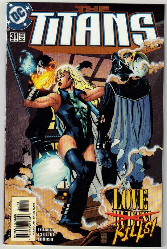 Titans #31 comic book near mint 9.4