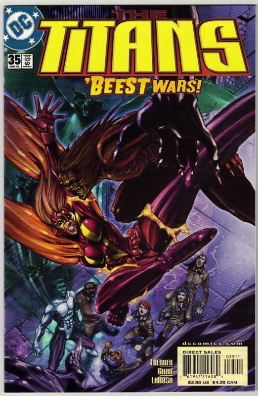 Titans #35 comic book near mint 9.4