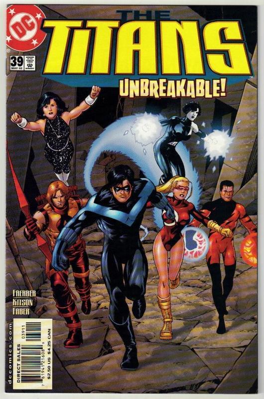 Titans #39 comic book mint 9.8