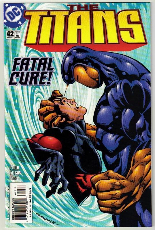 Titans #42 comic book mint 9.8