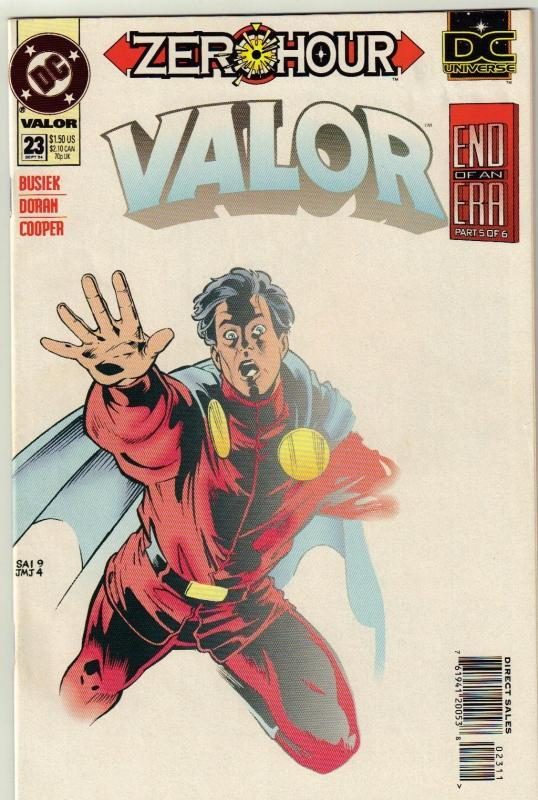 Valor #23 comic book near mint 9.4