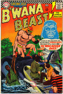 Showcase presents #67 (B'wana Beast) comic book fn 6.0