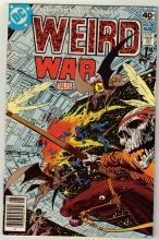 Weird War Tales #78 comic book very fine 8.0