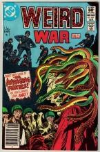 Weird War Tales #107 comic book very fine 8.0