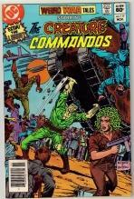 Weird War Tales #117 comic book very fine 8.0