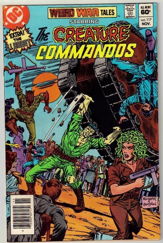 Weird War Tales #117 comic book very fine 8.0