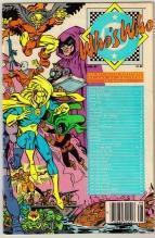 Who's Who #6 comic book very fine 8.0